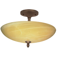 Nuvo Lighting Vanguard 3 Light Semi-Flush in Flemish Gold 60/147