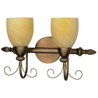 Nuvo Lighting Vanguard 2 Light Vanity & Wall in Flemish Gold 60/150