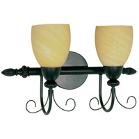 Nuvo Lighting Vanguard 2 Light Vanity & Wall in Textured Black 60/155
