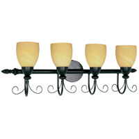Nuvo Lighting Vanguard 4 Light Vanity & Wall in Textured Black 60/157 photo thumbnail