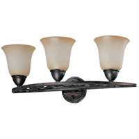Nuvo Lighting Pickford 3 Light Vanity & Wall in Distressed Bronze 60/1572 photo thumbnail