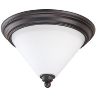 Bridgeview 1 Light 11 inch Mission Dust Bronze Flushmount Ceiling Light