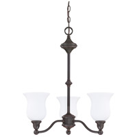 Nuvo Lighting Glenwood 3 Light Chandelier in Sudbury Bronze 60/1781