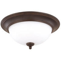 Nuvo Lighting Glenwood 2 Light Flushmount in Sudbury Bronze 60/1786