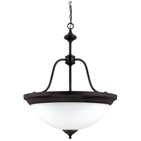 Nuvo Lighting Glenwood 4 Light Pendant in Sudbury Bronze 60/1788