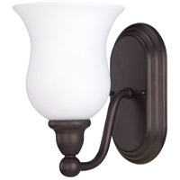 Nuvo Lighting Glenwood 1 Light Vanity & Wall in Sudbury Bronze 60/1792
