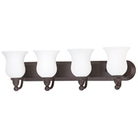 Nuvo Lighting Glenwood 4 Light Vanity & Wall in Sudbury Bronze 60/1795