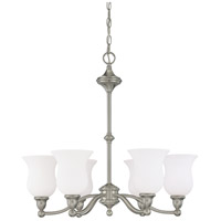 Nuvo Lighting Glenwood 6 Light Chandelier in Brushed Nickel 60/1802