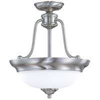 Nuvo Lighting Glenwood 3 Light Pendant in Brushed Nickel 60/1807