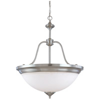 Nuvo Lighting Glenwood 4 Light Pendant in Brushed Nickel 60/1808