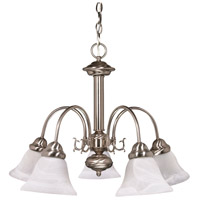 Nuvo 60/181 Ballerina 5 Light 24 inch Brushed Nickel Chandelier Ceiling Light