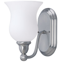 Nuvo Lighting Glenwood 1 Light Bath Light in Brushed Nickel 60/1812