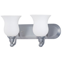 Nuvo Lighting Glenwood 2 Light Bath Light in Brushed Nickel 60/1813