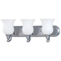 Glenwood 3 Light 24 inch Brushed Nickel Bath Light Wall Light