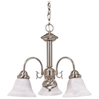 Nuvo Lighting Ballerina 3 Light Chandelier in Brushed Nickel 60/182
