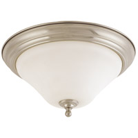 Dupont 2 Light 15 inch Brushed Nickel Flushmount Ceiling Light