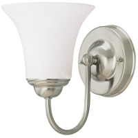 Nuvo Lighting Dupont 1 Light Vanity & Wall in Brushed Nickel 60/1832