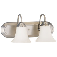 Nuvo Lighting Dupont 2 Light Vanity & Wall in Brushed Nickel 60/1833