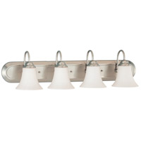 Nuvo 60/1835 Dupont 4 Light 30 inch Brushed Nickel Vanity & Wall Wall Light