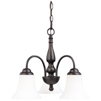 Nuvo Lighting Dupont 3 Light Chandelier in Dark Chocolate bronz 60/1841