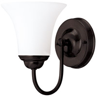 Nuvo Lighting Dupont 1 Light Vanity & Wall in Dark Chocolate bronz 60/1852
