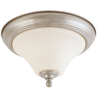 Dupont 1 Light 11 inch Brushed Nickel Flushmount Ceiling Light