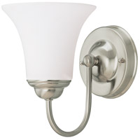 Dupont 1 Light 6 inch Brushed Nickel Vanity & Wall Wall Light