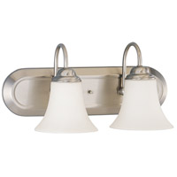 Dupont 2 Light 13 inch Brushed Nickel Vanity & Wall Wall Light