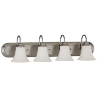 Nuvo 60/1915 Dupont 4 Light 30 inch Brushed Nickel Vanity & Wall Wall Light