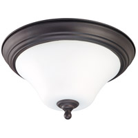 Nuvo Lighting Dupont 1 Light Flushmount in Dark Chocolate bronz 60/1924