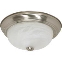 Nuvo 60/198 Signature 2 Light 13 inch Brushed Nickel Flushmount Ceiling Light