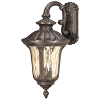 Nuvo 60/2002 Beaumont 3 Light 28 inch Fruitwood Outdoor Wall Lantern