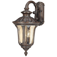 Nuvo 60/2004 Beaumont 2 Light 22 inch Fruitwood Outdoor Wall Lantern