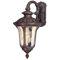 Nuvo 60/2006 Beaumont 1 Light 19 inch Fruitwood Outdoor Wall Lantern photo thumbnail