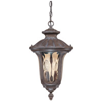 Nuvo Lighting Beaumont 2 Light Outdoor Hanging Lantern in Fruitwood 60/2008