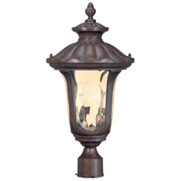 Beaumont 2 Light 22 inch Fruitwood Outdoor Post Lantern