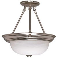 Nuvo Lighting Signature 2 Light Semi-Flush in Brushed Nickel 60/201