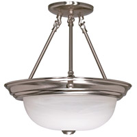 Nuvo Lighting Signature 3 Light Semi-Flush in Brushed Nickel 60/202