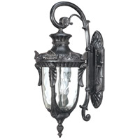 Nuvo Lighting Dunmore 3 Light Outdoor Wall Lantern in Greystone 60/2021 photo thumbnail
