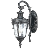 Nuvo Lighting Dunmore 1 Light Outdoor Wall Lantern in Greystone 60/2022