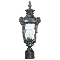Nuvo Lighting Dunmore 1 Light Outdoor Post Lantern in Greystone 60/2026 photo thumbnail