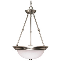 Nuvo Lighting Signature 3 Light Pendant in Brushed Nickel 60/203