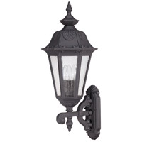 Cortland 3 Light 27 inch Satin Iron ore Outdoor Wall Lantern