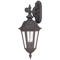 Nuvo Lighting Cortland 3 Light Outdoor Wall Lantern in Satin Iron ore 60/2032