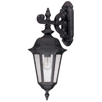Nuvo Lighting Cortland 1 Light Outdoor Wall Lantern in Satin Iron ore 60/2034