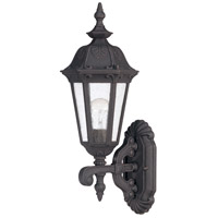 Nuvo Lighting Cortland 1 Light Outdoor Wall Lantern in Satin Iron ore 60/2035