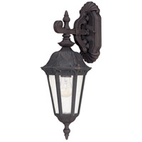 Nuvo Lighting Cortland 1 Light Outdoor Wall Lantern in Satin Iron ore 60/2036