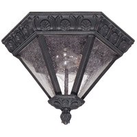 Nuvo Lighting Cortland 2 Light Outdoor Flushmount in Satin Iron ore 60/2037