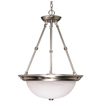 Nuvo Lighting Signature 3 Light Pendant in Brushed Nickel 60/204