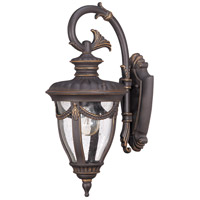 Nuvo Lighting Philippe 1 Light Outdoor Wall Lantern in Belgium Bronze 60/2046